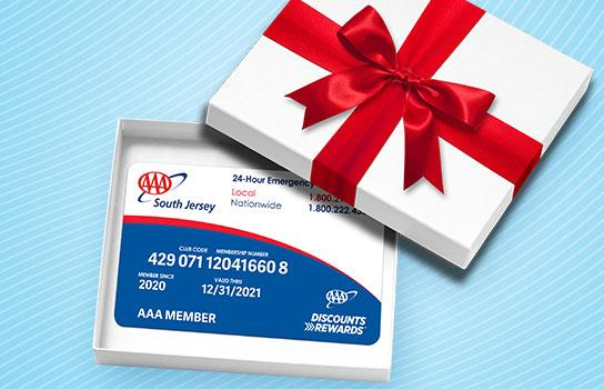 Give the Gift of AAA Membership
