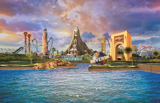 Universal Orlando Resort.  Three Parks. Endless Awesome.
