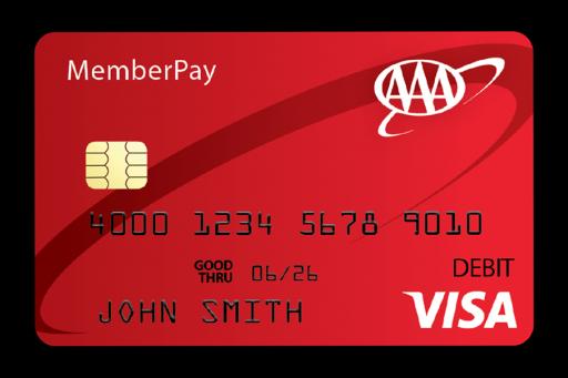 AAA MemberPay Visa® Prepaid Card
